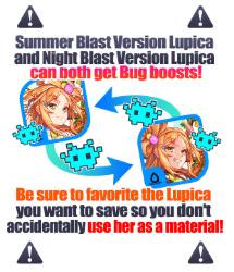 Summer Blast Lupica Warning