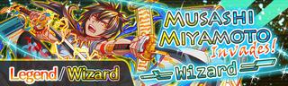 Musashi Miyamoto Invades! Quest Banner