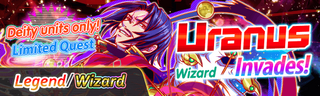 Uranus Invades! Quest Banner