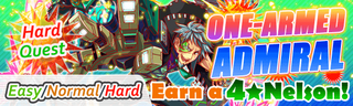One-Armed Admiral Quest Banner