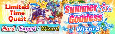 Summer Goddess Quest Banner