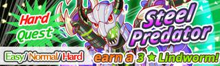 Steel Predator Quest Banner