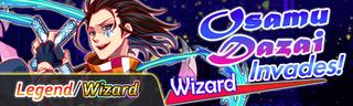 Osamu Dazai Invades! Quest Banner