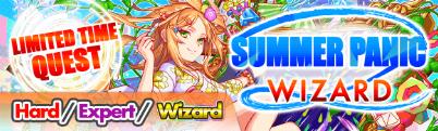 Summer Panic Quest Banner