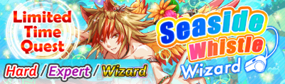 Seaside Whistle Quest Banner