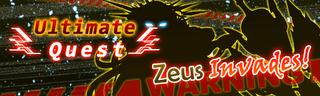 Zeus Invades! Quest Banner