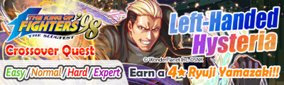 Left-Handed Hysteria Quest Banner