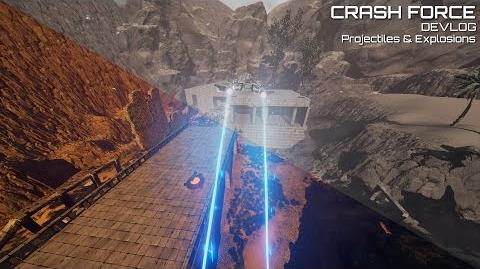 Crash Force - Projectiles and Explosions (Devlog)