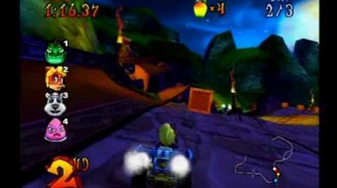 Crash Nitro Kart - Tiny Temple - Coco