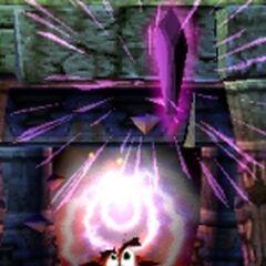 Crash recupera un Cristallo in Crash Bandicoot 2