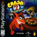 Crash Bandicoot 2 cubierta