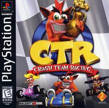 Crash Team Racing cubierta