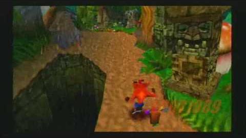 Crash Bandicoot 2 (Speedrun) Part 1 34 Turtle Woods