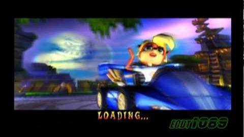 Crash Nitro Kart - Temple Turmoil - Gameplay