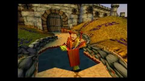Crash Bandicoot 3 Warped - Playtrough Toad Village