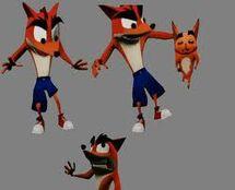Cómo Crash habría aparecido en el juego del 2010