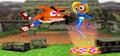 Crash Bandicoot Victory Screen.PNG