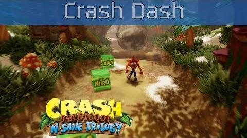 Crash Bandicoot N. Sane Trilogy - Crash Dash 100% Gems Walkthrough -HD 1080P-