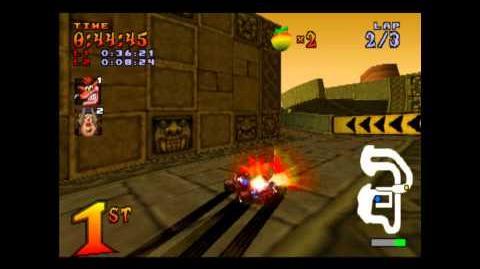 Papu Papu's Challenge - Boss 2 - Crash Team Racing - 101% Playthrough (Part 10)-0