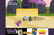 Spyro Crash Flashgame 2