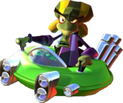 Crash Team Racing Nitros Oxide Hovercraft