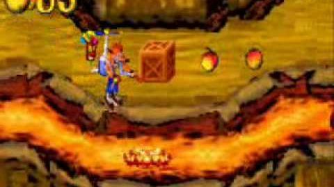 Crash Bandicoot N-Tranced - 101% & All Platinums, Part 26 Fire Walker 101% Ending