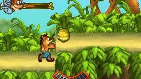 Crash of the Titans GBA Boss 1 -Dingodile