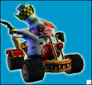 Crash Nitro Kart Doctor N. Gin In-Kart