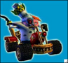 Crash Nitro Kart Doctor N. Gin In-Kart