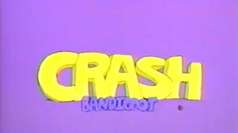 Scrapped cartoon cutscenes of Crash Bandicoot