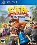CTR Nitro Fueled Cover Art