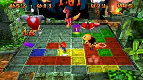 Crash Bash - 7 - Pogo Painter - Gem Challenge Crystal Challenge