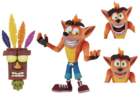 Neca crash with aku aku