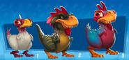 Nf t rex chicken concept