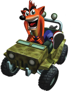 Crash Bandicoot Jeep Crash Bandicoot The Wrath of Cortex