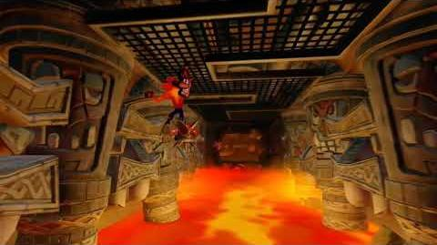 Crash Bandicoot 2 Walkthrough - Warp Room 4 Hangin' Out