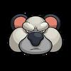 Koala kong sticker