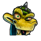 CTRNF-Green Komodo Joe Icon