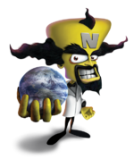 Doctor Neo Cortex The Huge Adventure