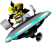 Crash Twinsanity UFO Doctor Neo Cortex