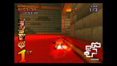Cortex Castle - Trophy Race - Crash Team Racing - 101% Playthrough (Part 17)