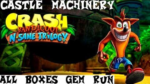 Castle Machinery- All Boxes Gem Run - Crash Bandicoot 1 N