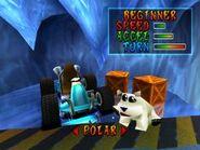 Polar- Character Selection Screen