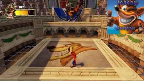 Crash Bandicoot N.Sane Trilogy Tiny Tiger Boss Fight