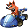Crash Nitro Kart Crash Bandicoot Promo In-Kart