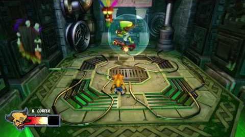 Crash Bandicoot N. Sane Trilogy Warped Neo Cortex Boss fight