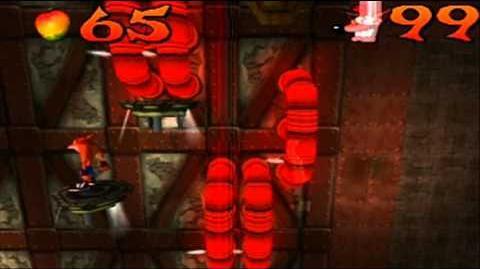 Crash Bandicoot Japanese Version 100% Part 43 - Castle Machinery