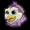 Penta penguin sticker