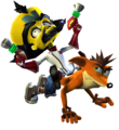 Crash Bandicoot Doctor Neo Cortex Crash Twinsanity.png