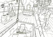N. gin battleship deck concept
